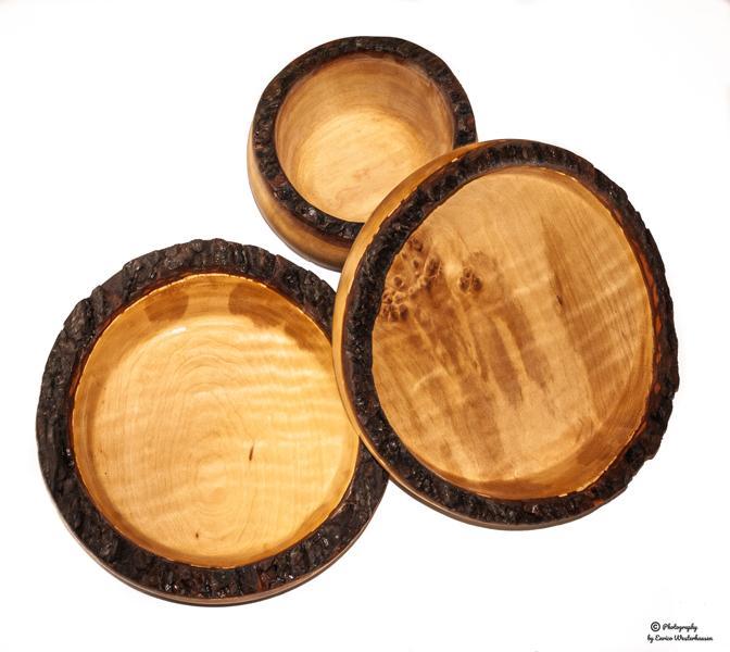 Rindenholz-Schüsseln